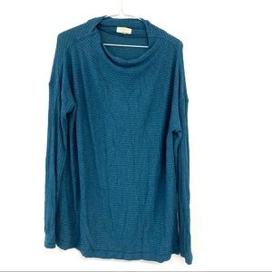 Lucky Brand Oversized Ribbed Pullover